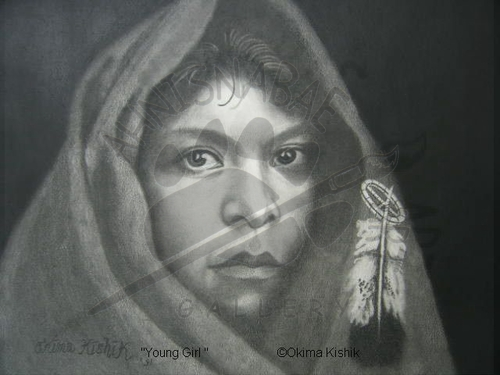 Young Girl - SOLD