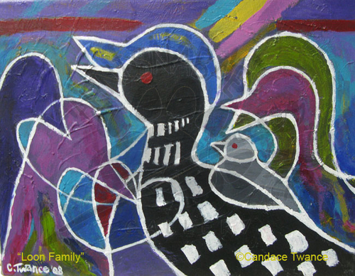 Loon Family - SOLD
