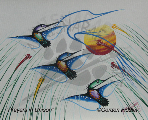 Prayers in Unison - SOLD
