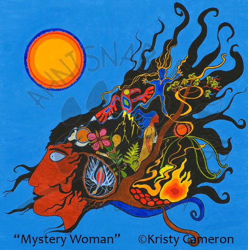 Mystery Woman - SOLD